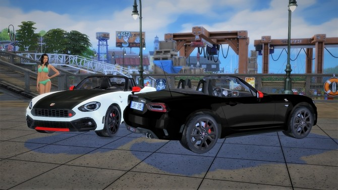 Abarth 124 Spider at LorySims image 1624 670x377 Sims 4 Updates