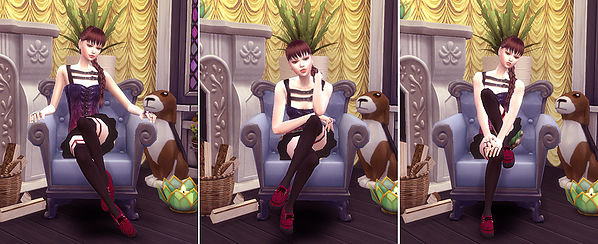 Combination Pose 23 (sofa) at A luckyday image 1631 Sims 4 Updates