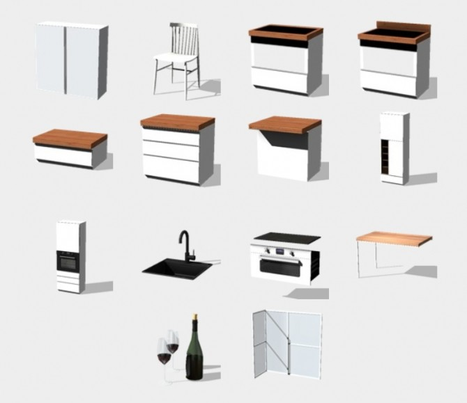 Atelier Kitchen at Pyszny Design image 16310 670x579 Sims 4 Updates