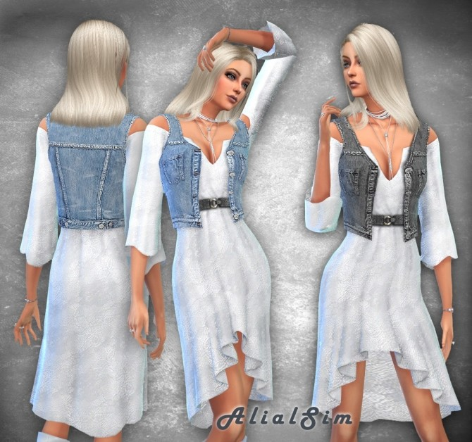 Laundry day Dress at Alial Sim image 1645 670x628 Sims 4 Updates