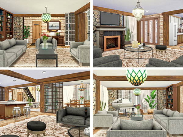 Lynwood home by Rirann at TSR image 1649 Sims 4 Updates