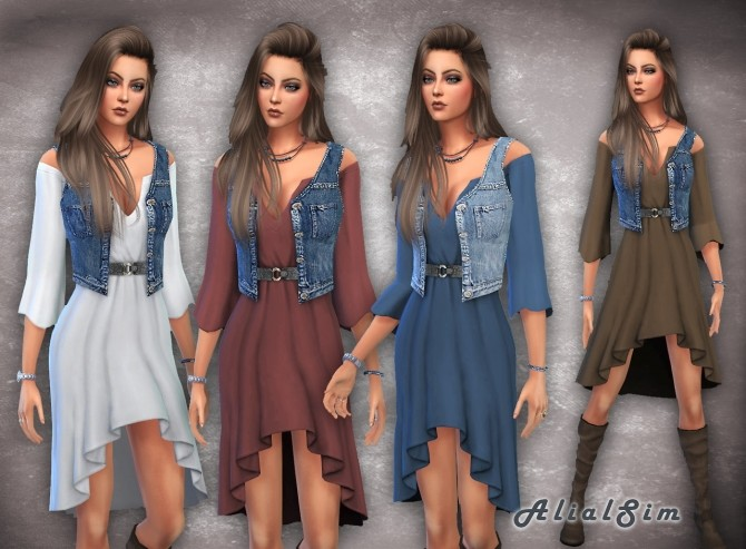 Laundry day Dress at Alial Sim image 1655 670x493 Sims 4 Updates