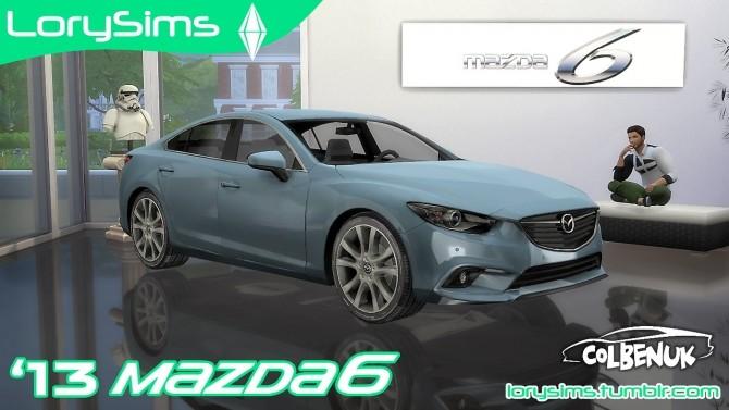 2013 Mazda 6 at LorySims image 1661 670x377 Sims 4 Updates