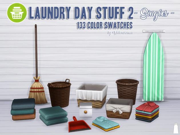 Laundry Day Stuff 2 Separates by Waterwoman at Akisima image 1666 Sims 4 Updates
