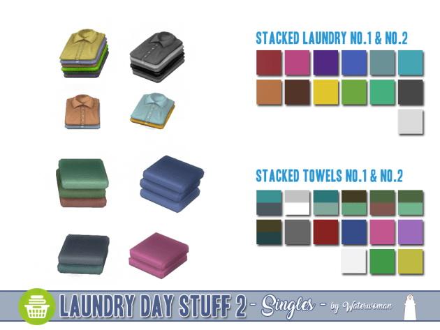 Laundry Day Stuff 2 Separates by Waterwoman at Akisima image 1686 Sims 4 Updates