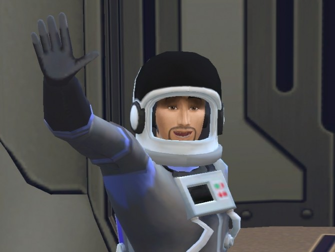 Sims 4 Astronaut Work from Home by NoelleBellefleur at Mod The Sims
