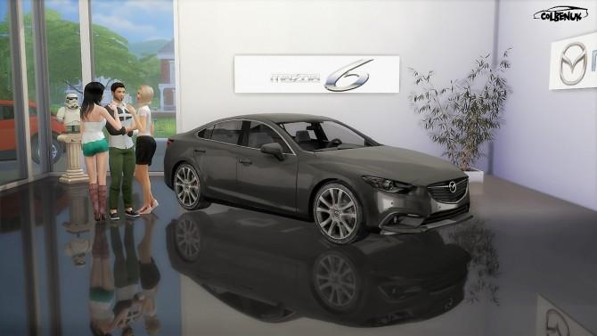Sims 4 2013 Mazda 6 at LorySims