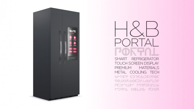 H&B Portal Expensive Refrigerator by littledica at Mod The Sims image 170 670x377 Sims 4 Updates