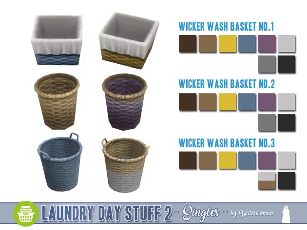 Laundry Day Stuff 2 Separates by Waterwoman at Akisima image 1706 Sims 4 Updates