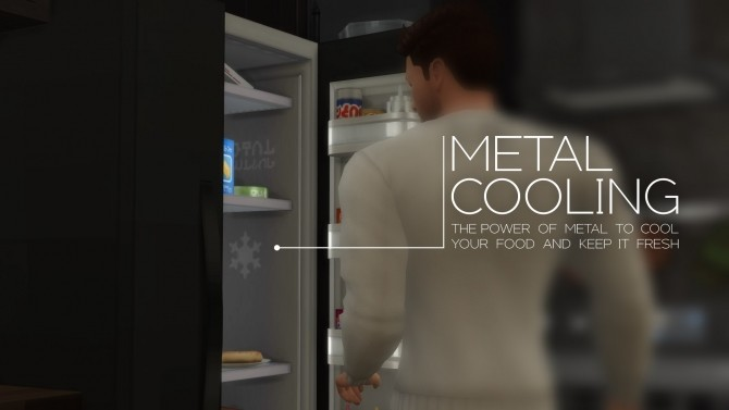 H&B Portal Expensive Refrigerator by littledica at Mod The Sims image 171 670x377 Sims 4 Updates