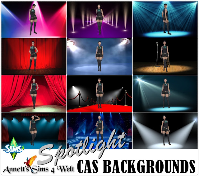 Spotlight CAS Backgrounds at Annett's Sims 4 Welt image 1722 Sims 4 Updates