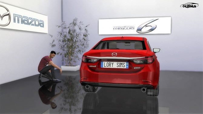 Sims 4 2017 Mazda 6 at LorySims