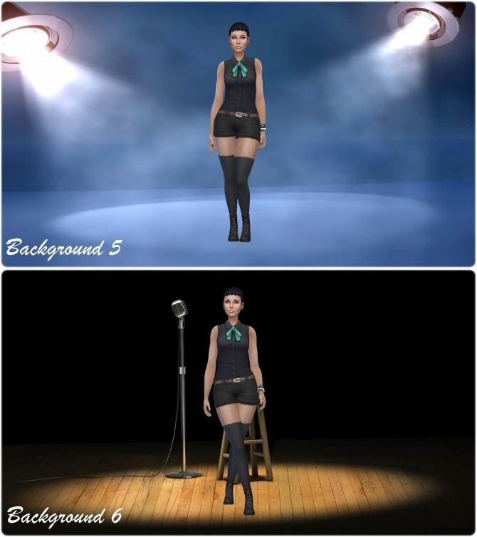 Sims 4 Spotlight CAS Backgrounds at Annett's Sims 4 Welt