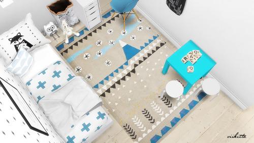 Scandinavian Nursery at Viikiita Stuff image 1757 Sims 4 Updates
