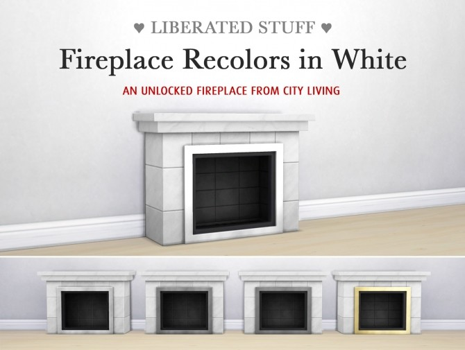 Sims 4 Gates, fireplaces, windows and doors by SimPlistic at Sims 4 Studio