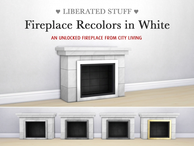 Fireplace 187 Sims 4 Updates 187 Best Ts4 Cc Downloads