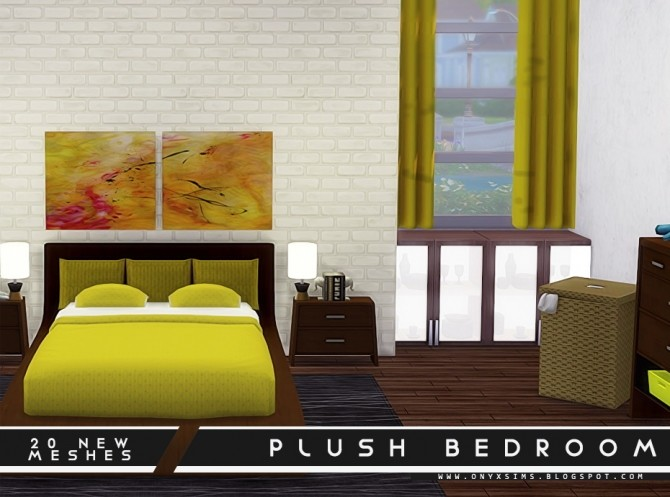 Plush Bedroom Set at Onyx Sims image 1772 670x497 Sims 4 Updates