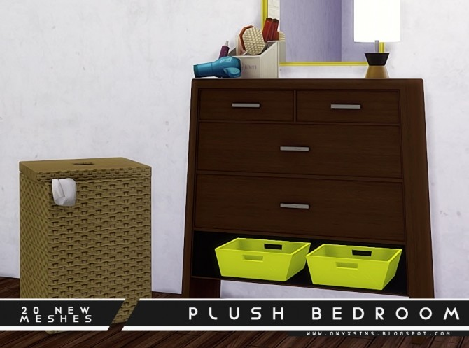 Plush Bedroom Set at Onyx Sims image 1782 670x497 Sims 4 Updates