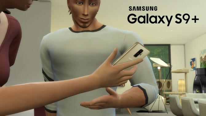 Sims 4 Galaxy S9+ Phone Replacement at OceanRAZR