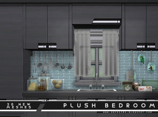 Plush Bedroom Set at Onyx Sims image 1792 670x497 Sims 4 Updates