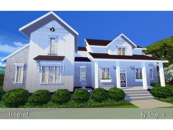 Winifred family home by Degera at TSR image 1810 Sims 4 Updates