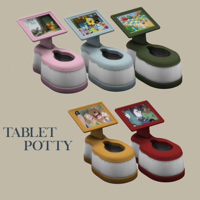 Sims 4 Tablet Potty at Leo Sims