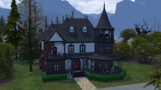 Vampire Family Home (NO CC) by soundrunner04 at Mod The Sims image 1863 670x377 Sims 4 Updates