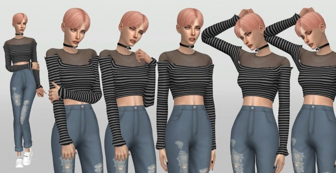 Stylenanda Model Poses by catsblob at SimsWorkshop image 187 670x346 Sims 4 Updates