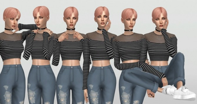 Stylenanda Model Poses by catsblob at SimsWorkshop image 188 670x355 Sims 4 Updates