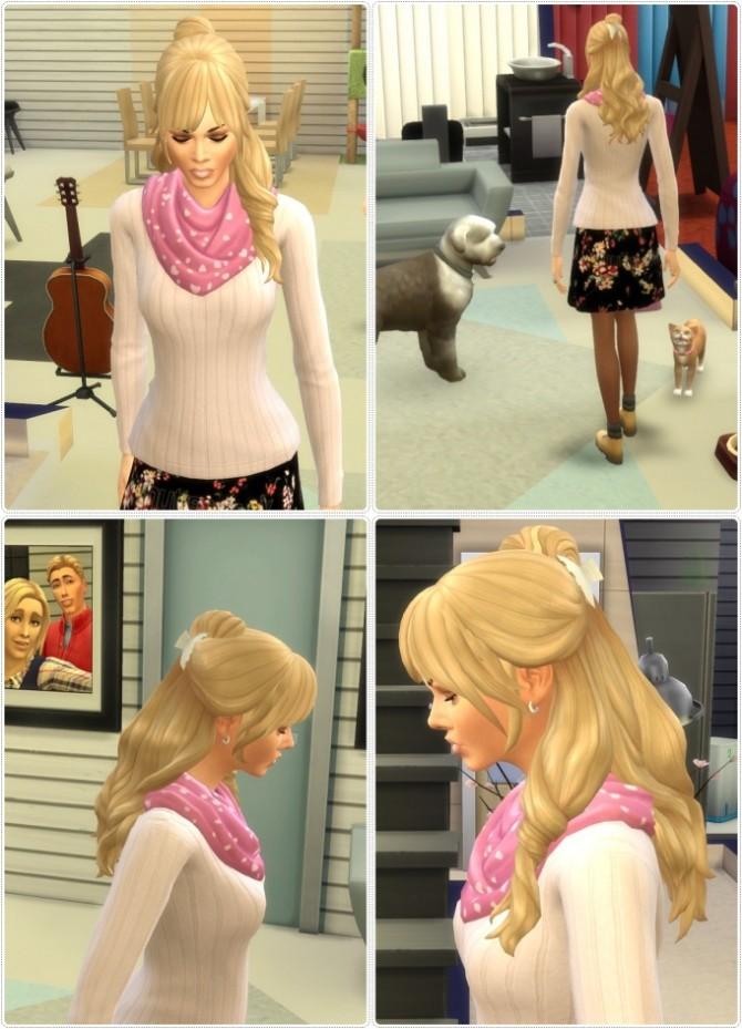 Sims 4 LuLa Hair at Birksches Sims Blog