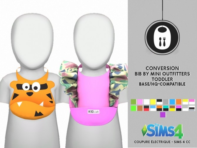 Sims 4 BIB BY MINI OUTFITTERS by Thiago Mitchell at REDHEADSIMS