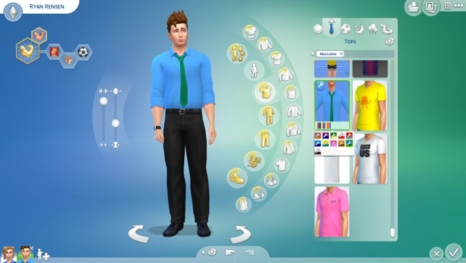 Sims 4 New Year Stuff Pack fanmade by cepzid at SimsWorkshop