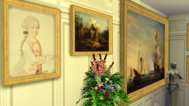 Various 18th Century Paintings Set at Regal Sims image 1946 Sims 4 Updates