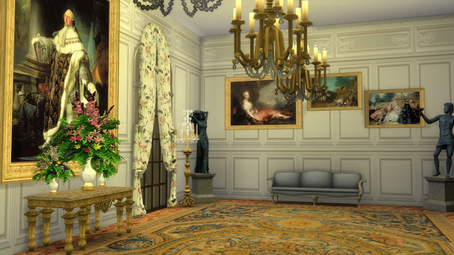 Various 18th Century Paintings Set at Regal Sims image 1956 Sims 4 Updates