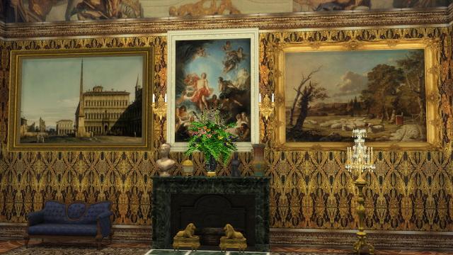 Sims 4 Various 18th Century Paintings Set at Regal Sims