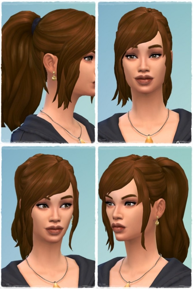 Good Morning Ponytail Hair at Birksches Sims Blog image 2002 669x1000 Sims 4 Updates