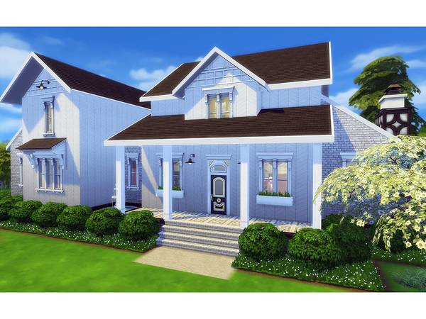 Winifred family home by Degera at TSR image 2010 Sims 4 Updates