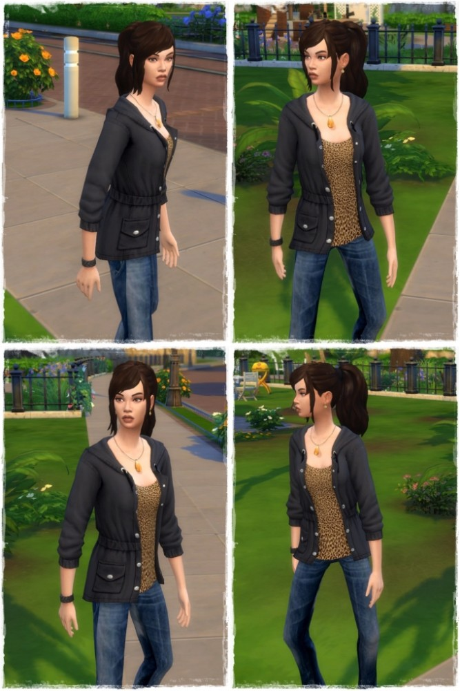 Good Morning Ponytail Hair at Birksches Sims Blog image 2014 667x1000 Sims 4 Updates