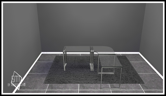 IDBD Stainless Steel Office Set at Sims Modern Technology image 202 Sims 4 Updates