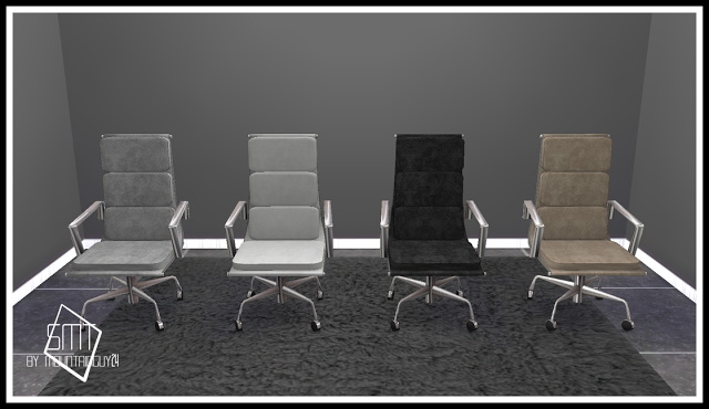 IDBD Stainless Steel Office Set at Sims Modern Technology image 204 Sims 4 Updates