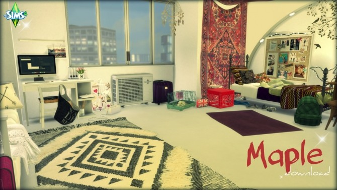 Maple sleep and study room at Pandasht Productions image 210 670x377 Sims 4 Updates