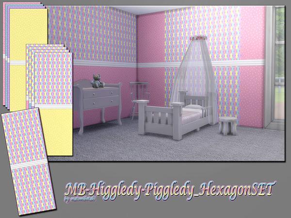 MB Higgledy Piggledy Hexagon SET by matomibotaki at TSR image 2100 Sims 4 Updates