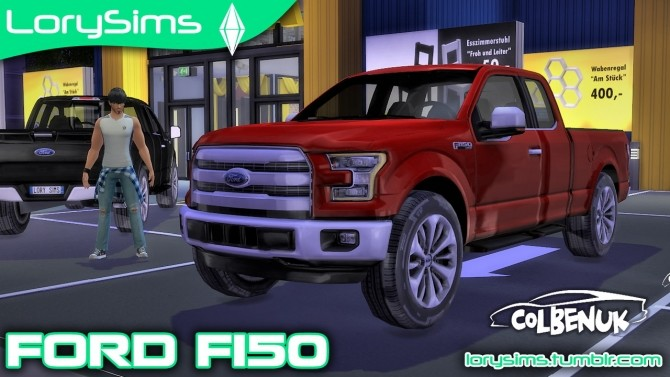 Ford F 150 at LorySims image 21010 670x377 Sims 4 Updates