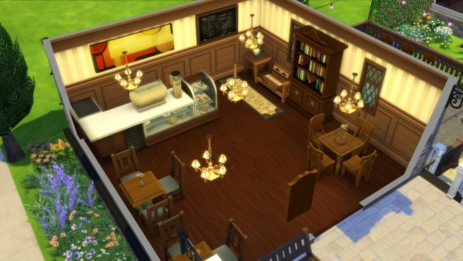 Sims 4 Your Favorite Spot home by Synathora at Mod The Sims