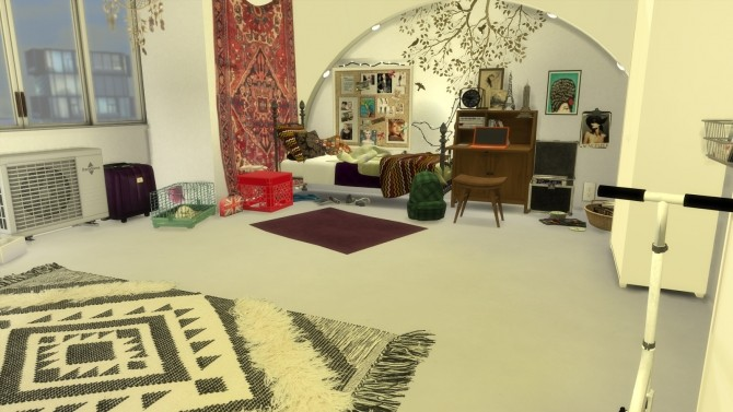 Maple sleep and study room at Pandasht Productions image 211 670x377 Sims 4 Updates