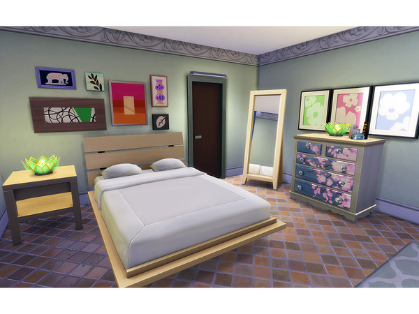 Sims 4 Winifred family home by Degera at TSR