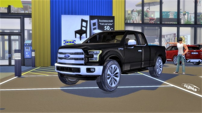 Ford F 150 at LorySims image 21110 670x377 Sims 4 Updates