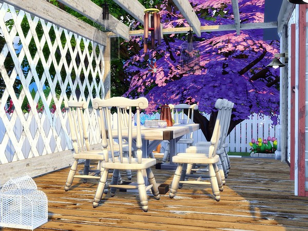 Old Shabby Cottage by MychQQQ at TSR image 2116 Sims 4 Updates