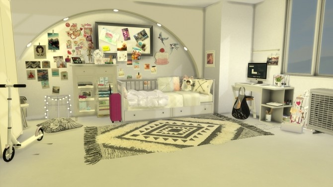 Maple sleep and study room at Pandasht Productions image 212 670x377 Sims 4 Updates