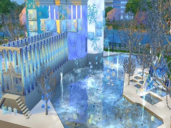 Sims 4 Crystal Ice Palace by Sapphyra at TSR